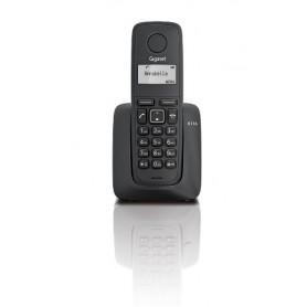 TELEFONO SOBREMESA GIGASET INALAMBRICO  A116 MONO NEGRO