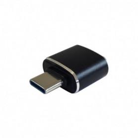 ADAPTADOR USB3.1 AISENS USB CM A USB AH GEN2 3A  A108-0369 NEGRO