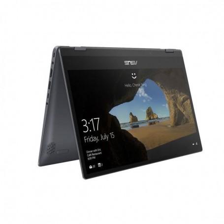 PORTATIL ASUS I7 1065G7 8GB 256SSD 14 NOOD W10 FLIP PLEGABLE 360  TP412FA-EC520T