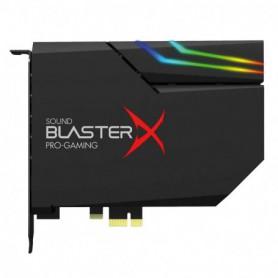 SONIDO CREATIVE SOUND BLASTERX AE-5 PLUS NEGRA RGB AURORA PCIE