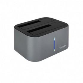 DOCK TOOQ  2XSATA 2.5P3.5P USB 3.03.1 GEN1 GRIS TOOQ TQDS-805G