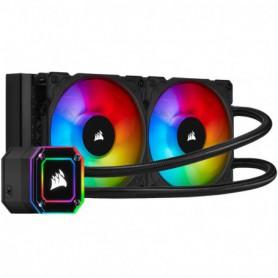 REFRIGERADOR LIQUIDO CPU CORSAIR H100I ELITE CAPELLIX RGB (2X120MM)