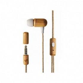 AURICULAR ENERGY EARPHONES ECO CHERRY WOOD MIC CONTROL TALK 450428