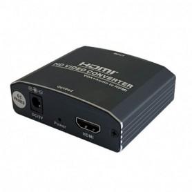 CONVERSOR SVGA H AUDIO JACK 3.5H HDMI AISENS A115-0386 NEGRO