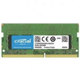 MEMORIA SODIMM DDR4  8GB PC4-21300 2666MHZ CRUCIAL CL19 1.2V CT8G4SFRA266