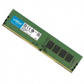 MEMORIA DDR4  8GB PC4-21300 2666MHZ CRUCIAL CL19 1.2V NOECC CT8G4DFRA266