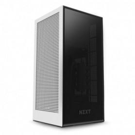 CAJA  MINI-ITX NZXT H1 BLANCANEGRA  PSU 650W  REFR LIQUIDO 140MM