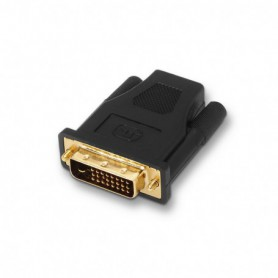 ADAPTADOR DVI A HDMI 241M-HDMI AH ORO NEGRO AISENS A118-0091