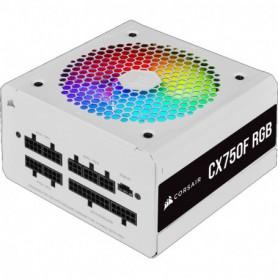 FUENTE ALIMENTACION ATX  750W CORSAIR CX750F RGB 80 BRONZE MODULAR WHITE