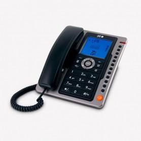 TELEFONO FIJO  SPC OFFICE PRO 3604N PANTALLA ILUMINADA FUNCION MANOS LIBRES NEGRO