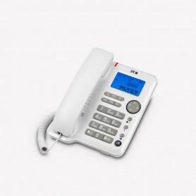TELEFONO FIJO  SPC OFFICE ID 3608B PANTALLA ILUMINADA BLANCO
