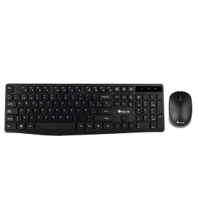 teclado ngs con raton allure kit inalambrico