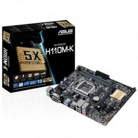 PB S1151 ASUS H110M-K 2DDR4 PCIE USB3 VGA DVI-D 90MB0PH0-M0EAY0
