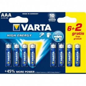 PILA AAA LR03 LONGLIFE POWER VARTA BL62 ALCALINA