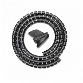 ORGANIZADOR DE CABLE EN ESPIRAL 25MM NEGRO 1.0M AISENS A151-0406