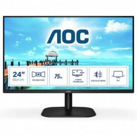 MONITOR 23.8 IPS AOC 24B2XHEU 1920X1080 FULLHD(1080P) VGA HDMI NEGRO