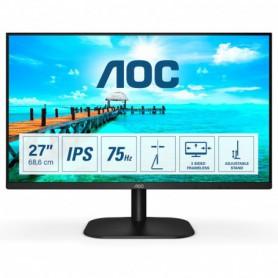 MONITOR 27 IPS AOC 27B2H 1920X1080 FULLHD(1080P) VGA HDMI NEGRO