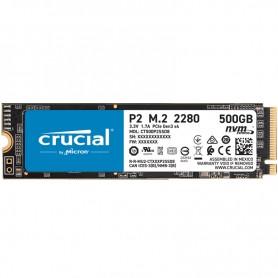 HD  SSD  500GB CRUCIAL M.2 2280 P2 PCIE 3.0 NVME CT500P2SSD8