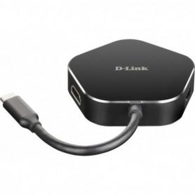 HUB USB-C D-LINK 4 EN 1 (HDMI 2USB3.0 USB-C)  DUB-M420