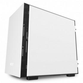 CAJA  MINI-ITX NZXT H210I BLANCANEGRA CA-H210I-W1