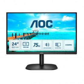 MONITOR 23.8 LED AOC 24B2XHM2 FHD VGA HDMI NEGRO