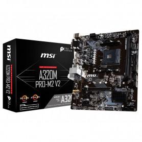 PB AMD SAM4 MSI A320M PRO-M2 V2 2DDR4 PCIE SATA3 HDMI DVI-D MATX