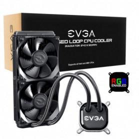 REFRIGERADOR LIQUIDO CPU EVGA CLC 240MM RGB LED CPU 2XFX12 120MM 400-HY-CL24-V1