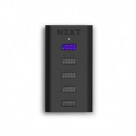 MULTIPLICADOR PUERTOS USB  IUSBH-M3 NZXT 4 INTERNOS 1 CONEXION PLACA BASE NEGRO
