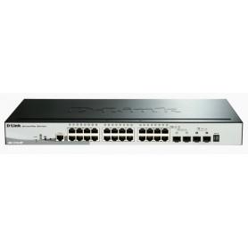 SWITCH D-LINK 28P DGS-1510-28P 101001000 2P SFP POE SMARTPRO