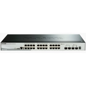 SWITCH D-LINK 28P DGS-1510-28X  24P 101001000  4X10 GIGABIT SFP