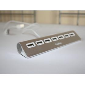 HUB USB COOLBOX  7 USB 2.0  ALU2 COO-HU7ALU2