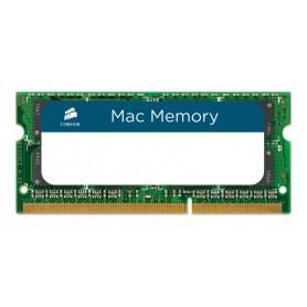 MEMORIA RAM SODIMM DDR3 4GB PC3-8500 1066MHZ CORSAIR MAC CMSA4GX3M1A1066C7