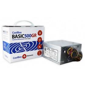 FUENTE DE ALIMENTACION ATX 300W BASIC500GR COOLBOX COO-FA500BGR