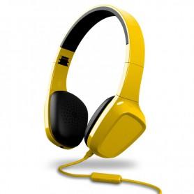 AURICULAR ENERGY HEARPHONES 1 YELLOW CONTROL TALK MICROFONO 428397UC