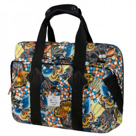 MALETIN PORTATIL 16 EVITTA MESSENGER LAPTOP BAG BUTTERFLIES EVLB000467