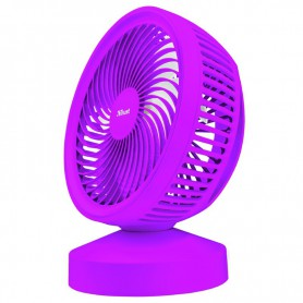 VENTILADOR SOBREMESA TRUST VENTU USB COOLING FUN SUMMER PURPLE