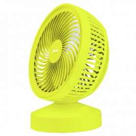VENTILADOR SOBREMESA TRUST VENTU USB COOLING FUN SUMMER YELLOW