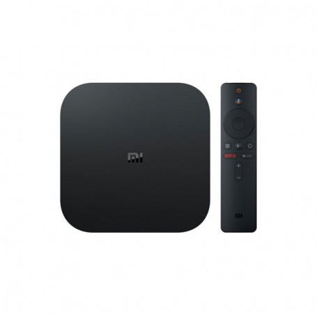 SMART TV XIAOMI MI TV BOX 4K QCA53 2GB 8GB WF BT HDMI USB REPROD CONTROL VOZ