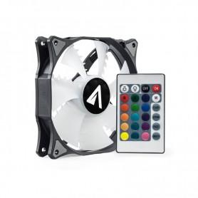 VENTILADOR CAJA ADICIONAL ABYSM GAMING RGB SLED 12MM CONTROL REMOTO 831101