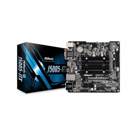 PLACA BASE ASROCK J5005-ITX CPU INTEL QC J5005 2DRR4 4USB3.1 PCIE M2 HDMI DVD-D