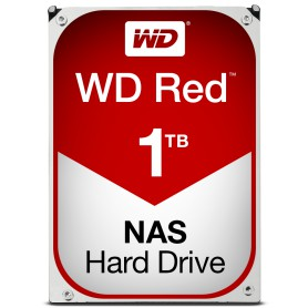 DISCO DURO INTERNO SATA III 1TB WD RED 64MB WD10EFRX