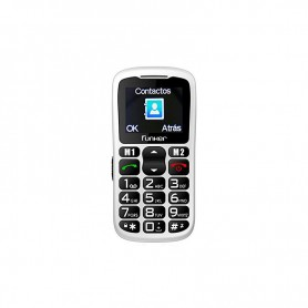 SMARTPHONE SENIOR FUNKER C50WH P1.8 BLUETOOTH EASY BLANCO