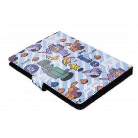 FUNDA TABLET UNIVERSAL SILVER HT 9-10.1  PIXEL GAMER
