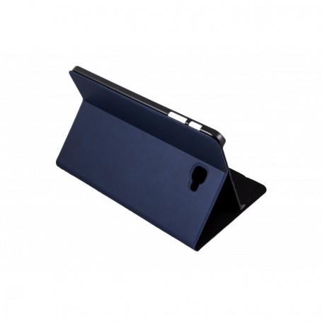 FUNDA TABLET SAMSUNG SILVER HT 10.1  TAB A BOOKCASE WAVE AZUL