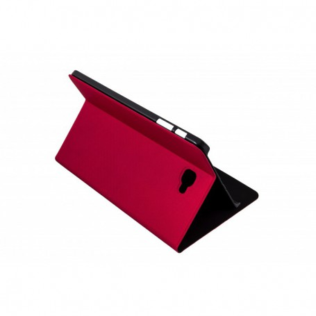 FUNDA TABLET SAMSUNG SILVER HT 10.1  TAB A BOOKCASE WAVE ROJA