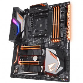 PLACA BASE AMD SAM4 GIGABYTE X470 AORUS GAMING 7 WIFI DDR4 PCIE SATA3 RAID ATX