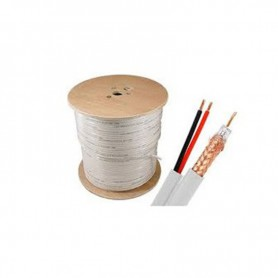 VIGILANCIA CABLE IVT BOBINA COAXIAL RG-592*0.75 100MTRS  ALIMENT ACC4503