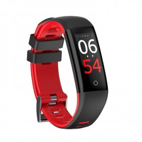 RELOJ SMARTBAND LEOTEC FIT FASHION HEALTH ROJA  TACTIL BT IP67 LEPFIT14R