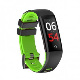RELOJ SMARTBAND LEOTEC FIT FASHION HEALTH GREEN TACTIL BT IP67 LEPFIT14G