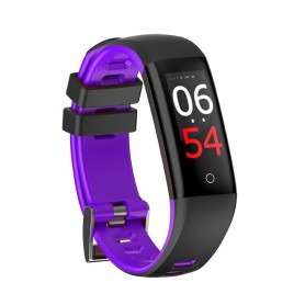 RELOJ SMARTBAND LEOTEC FIT FASHION HEALTH VIOLETA TACTIL BT IP67 LEPFIT14V